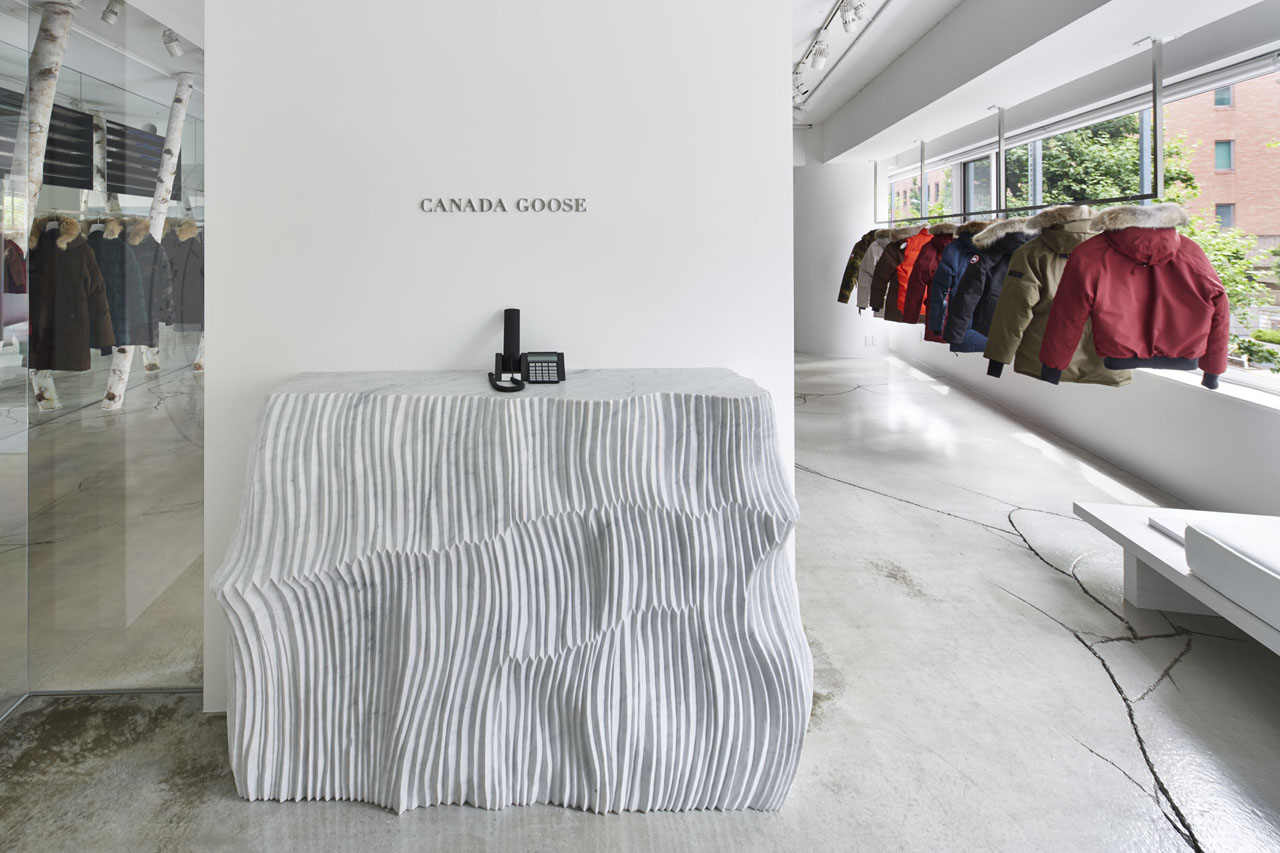 CANADA GOOSE press room / Sendagaya